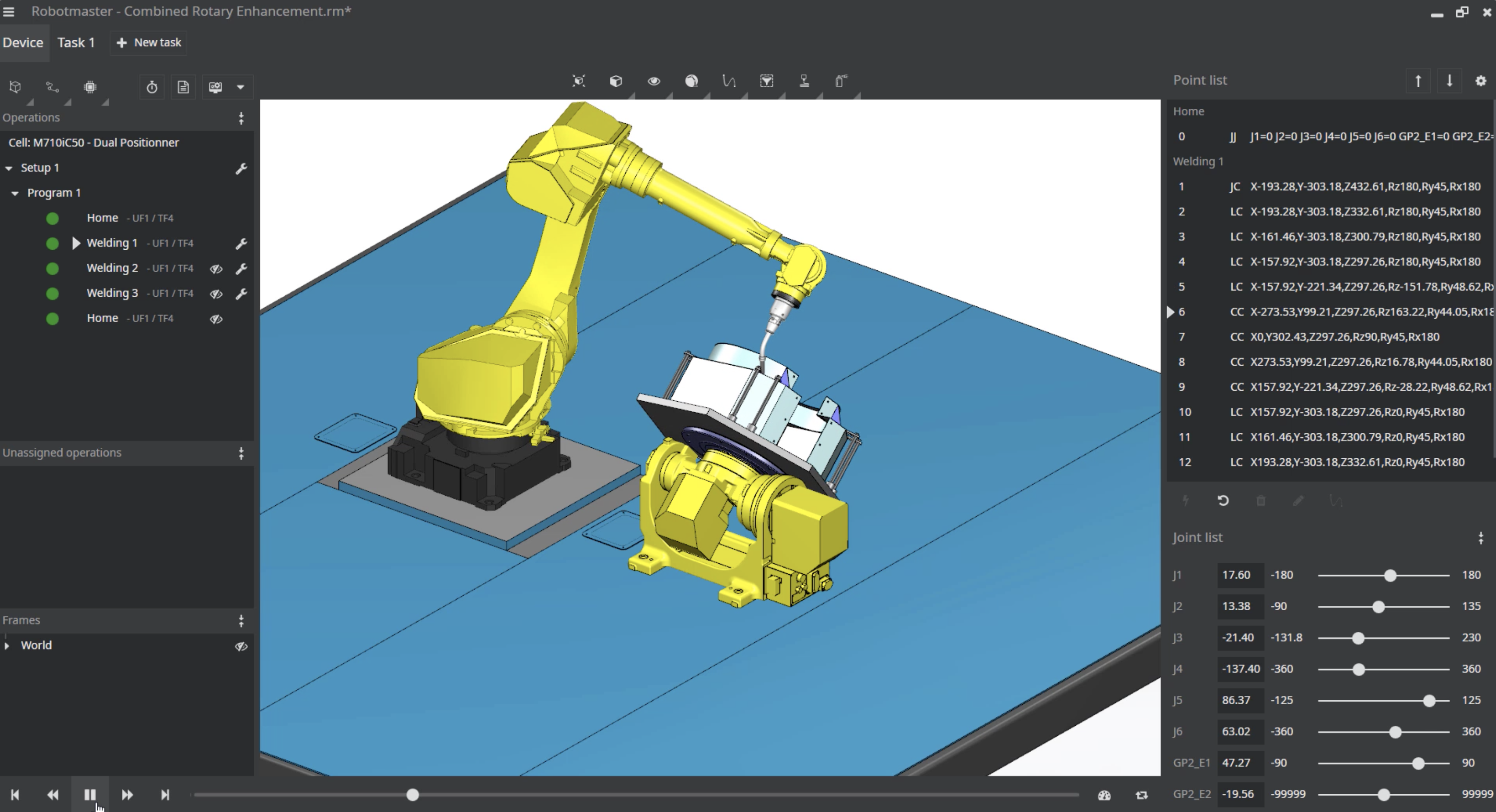 OLP can upload the programming to a robot while it is operating, which means less manufacturing delays.